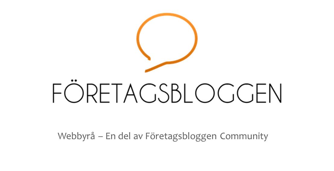 Företagsbloggen – e-handel, hemsidor & sociala medier